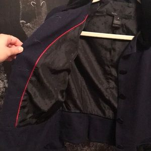 Marc Jacobs Jackets & Coats - Marc Jacobs Navy tailored blazer with black velvet